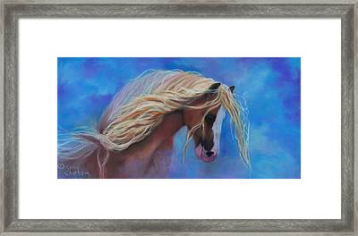 Framed Print featuring the pastel Gypsy In The Wind by Karen Kennedy Chatham
