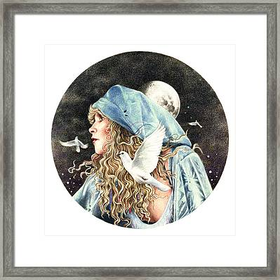 Gypsy Framed Print by Johanna Pieterman