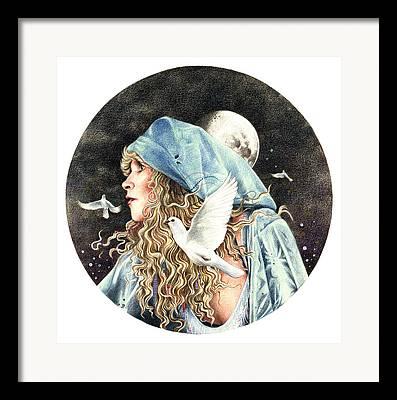 Gypsy Drawings Framed Prints