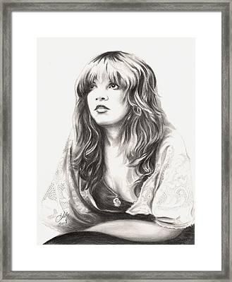 Gypsy Framed Print by Kathleen Kelly Thompson