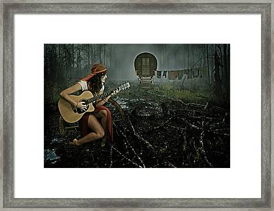 Gypsy Life Framed Print by Mihaela Pater