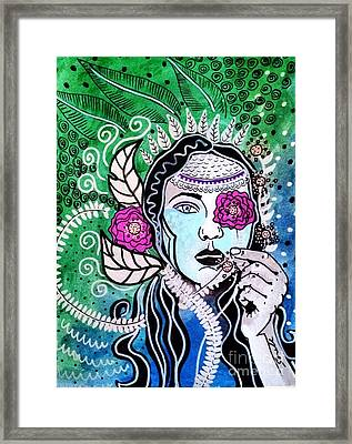 Gypsy Mary Framed Print by Amy Sorrell
