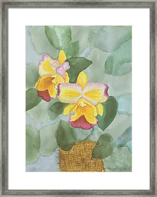 Gypsy Orchids Framed Print