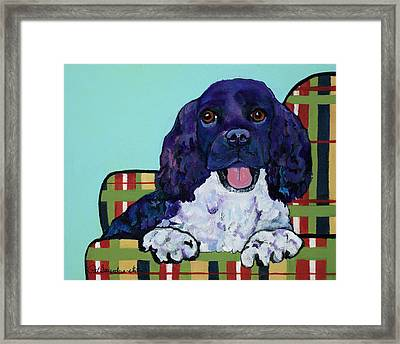 Gypsy Framed Print by Pat Saunders-White