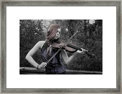 Gypsy Player II Framed Print