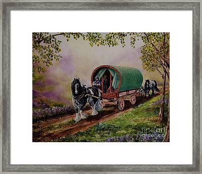 Gypsy Road Framed Print