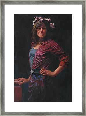 Gypsy Framed Print by Robert Bissett