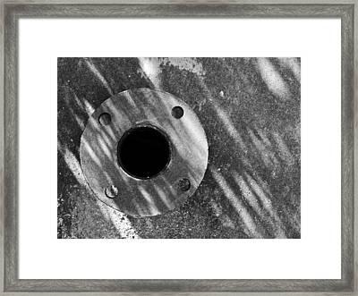 Gyration Framed Print