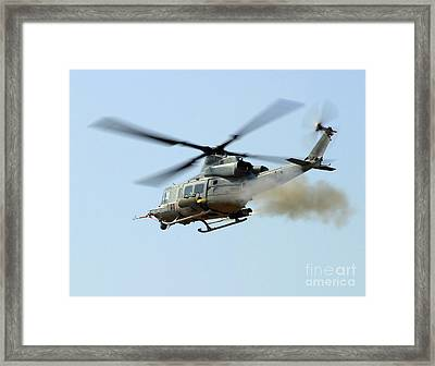 H-1 Upgrades Test Pilot, Launches Framed Print by Stocktrek Images