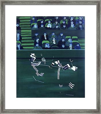 H W Framed Print by Ken Yackel