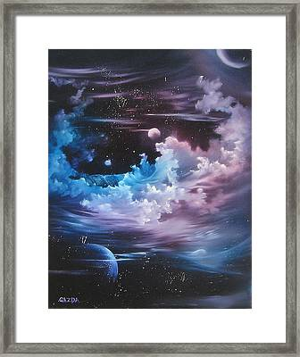 h2o Vapor Framed Print by David Gazda