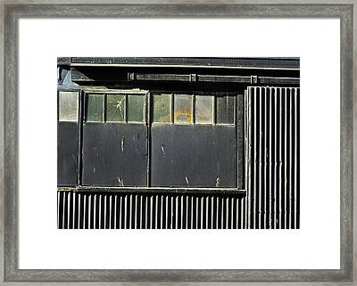 Framed Print featuring the photograph H3 Geometry by Adrian Pym