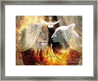 Ha-shilush Ha-kadosh  Framed Print by Dolores Develde