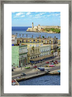 Framed Print featuring the photograph Habana Havana  by Steven Sparks