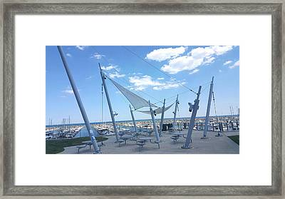 Habor View Framed Print