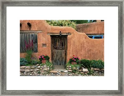 Hacienda Santa Fe Framed Print