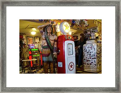 Hackberry Route 66 Arizona Framed Print by Bob Christopher