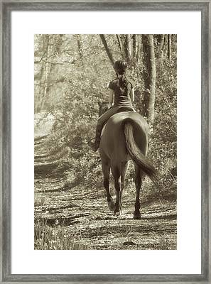 Hacking  Framed Print by JAMART Photography