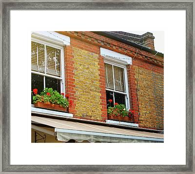 Hackney Row Framed Print by JAMART Photography