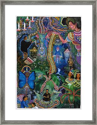 Hada De Pero Nuga Framed Print