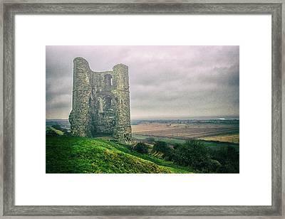 Hadleigh Castle Framed Print by Martin Newman