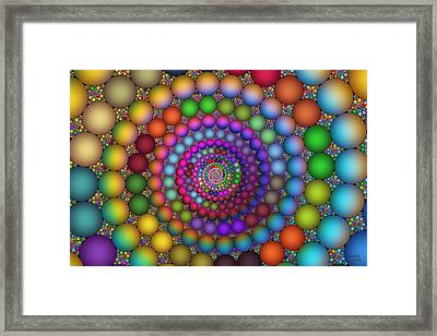 Hadron Formation Framed Print