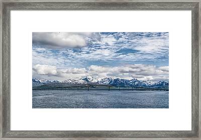 Hadsel Bridge Framed Print by Alan Toepfer
