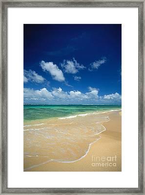 Haena Beach Framed Print by Greg Vaughn - Printscapes