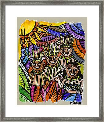 Hafa Adai Welcome To Saipan Framed Print
