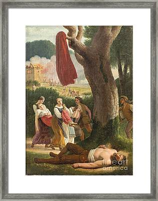 Hagbart And Signe Framed Print by Celestial Images