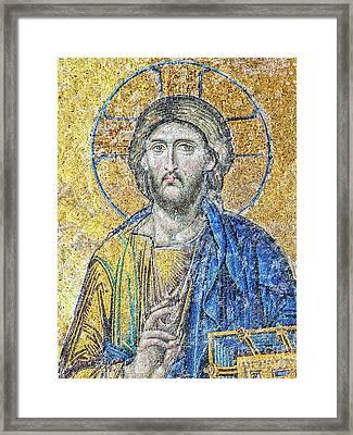 Hagia Sofia Christ Final Framed Print