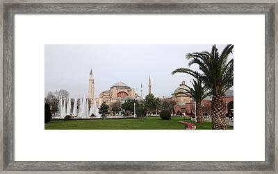 Hagia Sophia Framed Print by Niyazi Ugur Genca