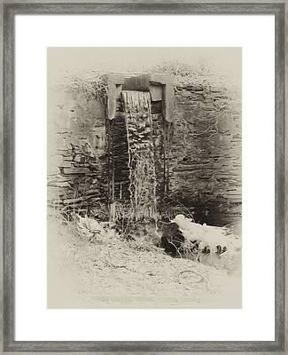 Hagys Mill Framed Print by Bill Cannon