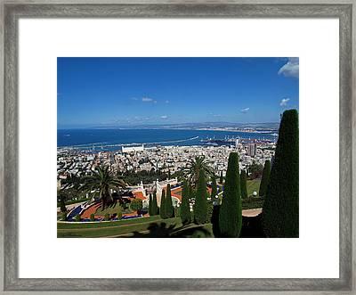 Haifa Bay 2 Framed Print