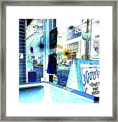 Haight Street San Francisco From 1428 Framed Print