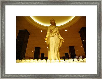 Hail Mary Full Of Grace...amen Framed Print