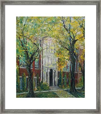 Hail Ole Malvern High School Framed Print by Robin Miller-Bookhout