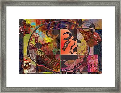 Hail To The Chief Framed Print by Jimi Bush