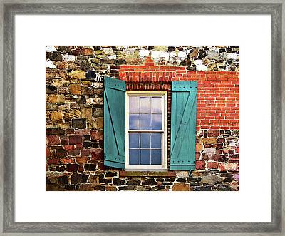 Haint Blue Framed Print by JAMART Photography