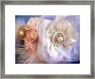 Hair Accessory - Hairclip - Ameynra Design Framed Print by Sofia Metal Queen