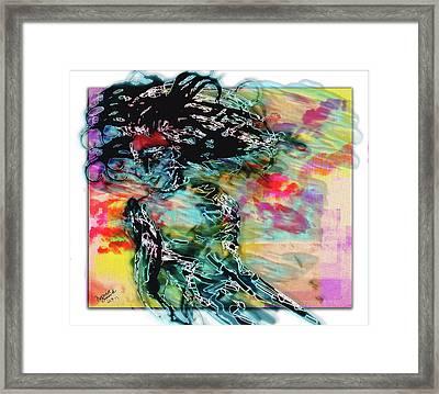 Hair Raiser Framed Print by Monroe Snook