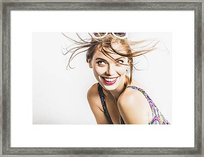 Hair Salon Portrait Framed Print by Jorgo Photography - Wall Art Gallery