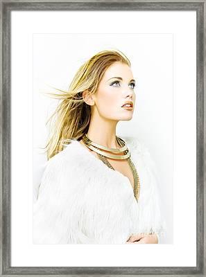 Hair Style Framed Print