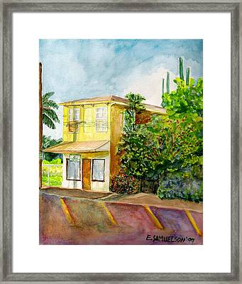 Framed Print featuring the painting Hairbenders Of Paia by Eric Samuelson