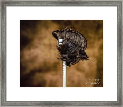 Hairbrush Framed Print