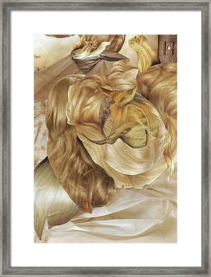 Hairx Framed Print