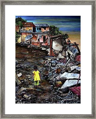 Haiti Out Of The Rubble Hope Framed Print