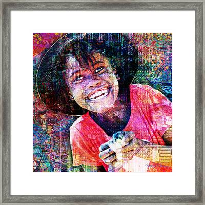 Haitian Daughter Framed Print