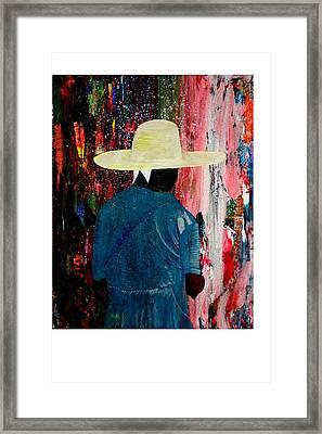 Haitian Lady Framed Print by Neg Ayiti