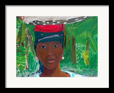 Jacmel Haiti Framed Prints